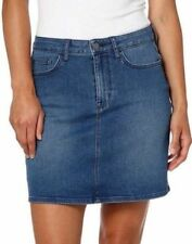 Calvin Klein Jeans Women's 5 Pocket Style Denim Skirt - Moonlight Dusk 10