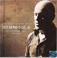 DOMINIQUE A LE COURAGE DES OISEAUX CD PROMO