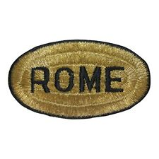 ID 1897 Rome Italy Travel Souvenir Iron On Applique Patch