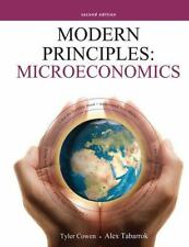 Modern Principles - Microeconomics by Tyler Cowen and Alex Tabarrok (2011, Paper