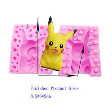 3D Pokemon Pikachu Cake Chocolate Silicone Mould Fondant Baking Mold Decorating
