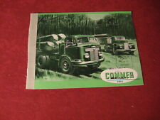 1952 Commer Semi Pickup Truck rig Sales Brochure Booklet Catalog Book Old