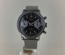 EXTREMELY RARE VINTAGE SMITHS ASTRAL NATIONAL COAL BOARD VALJOUX  CHRONOGRAPH