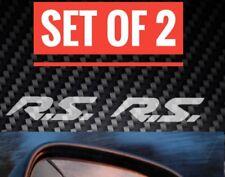 RENAULT CLIO RS carrello SPORT CLIO MEGANNE RS SPECCHIO Gli Adesivi Decal X2 225 TURBO CUP