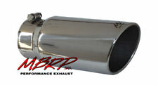 """MBRP 5"""" T5051 Rolled Edge Angled Exhaust Tip fits 4"""""""