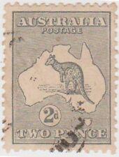(PA146) 1915 Australia 2d grey Kangaroo ow35