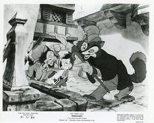 PINOCCHIO WALT DISNEY  1940 RERELEASE RESSORTIE 1961 VINTAGE PHOTO #3