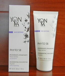 YONKA PHYTO 58 PG PNG Regenerating  Normal to OILY Skin 1.4 oz New EXP 3/2020