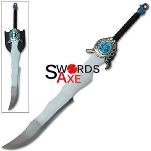 League of Legends Tryndamere  of Freljord Barbarian King Huge Sword Cosplay