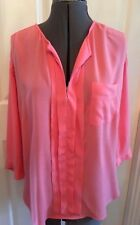 Marks & Spencer Womens Neon Pink Blouse 12