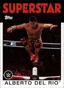 2016 Topps Heritage WWE Base Singles (Pick Your Cards)