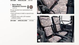 Honda 14-20 Pioneer 700 Genuine Accessories REAR Seat Cover Camo 0SP32-HL3-201B