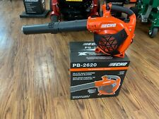 Brand New Echo Pb-2620 X-Series Gas Handheld Leaf Blower 2 Stroke 25.4Cc 456Cfm