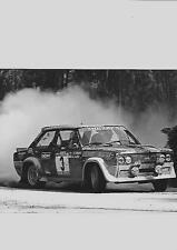 "Fiat abarth 131 rallye voiture press photo ""brochure"""
