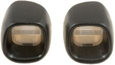 Pair (Left & Right) License Plate Light Lenses Fits 98-05 S10 Sonoma Blazer Jimm
