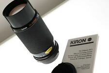 Kiron 70-210mm f/4.5 Nikon Ai-s macro zoom lens. EXC++ condition. +manual.