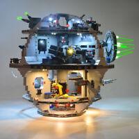LED Licht Kit Für LEGO 75159 Gebäuden Blöcke Death Star Spielzeug USB Lighting