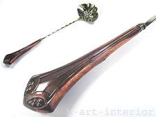Jugendstil Bowle Kelle versilbert Kupfer Copper Punch Ladle WMF Geislingen 1900