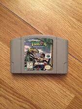 Turok: Dinosaur Hunter Nintendo 64 N63 Game Cart Good Shape Works BA5