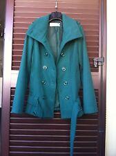 Cappottino Coconuda tg 40 giacca cappotto giaccone verde H&M ZARA MANGO MOTIVI