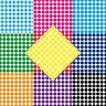 1000 Punti Colla 10mm Autoadesivo Adesivo PVC Pellicola Etichette Inventario