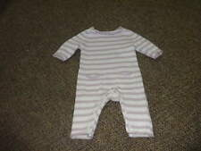 BABY GAP PREEMIE UP TO 7 LBS PURPLE STRIPED SWEATER OUTFIT