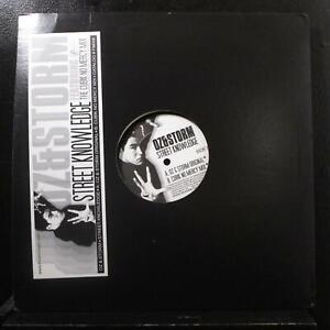 """Oz & Storm - Street Knowledge 12"""" Mint- FM008 Vinyl Record Breaks"""