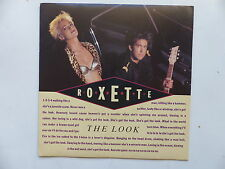 45 Tours ROXETTE The look , silver blue 1363337