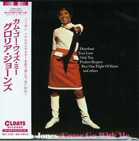 GLORIA JONES-COME GO WITH ME-JAPAN MINI LP CD BONUS TRACK C94