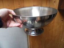 Grand seau raffraichissoir vasque a glacons Champagne Vin ice bucket metal inox
