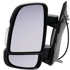 Peugeot Boxer 2006-2018 Short Arm Electric Black Door Wing Mirror Left Side