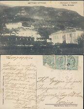 SETTIMO VITTONE,PIEMONTE (TO) VILLA GIRODO F.P. VIAGGIATA 1920 N.40136