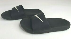 Nike Kawa Kids Size 13c  Slides  / Sandals - Black  819352-001 - Free Fast Shipp