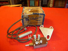 NOS 1940-50 Packard overdrive reverse lockout switch and hardware