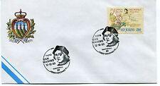 1990-10-12 San Marino Vasto Vastophil verso Colombo '92 ANNULLO SPECIALE Cover