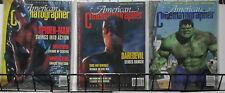 American Cinematographer: Superhero Lot Spider-Man Daredevil Hulk Raimi to Lee