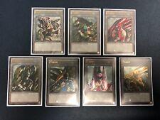 7x Mighty Morphin Power Ranger + Megazords Token Custom Ultra Rare Yugioh