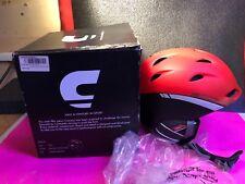 Brand New In Box Carrera Ski Snowboard Helmet Size 59-63 Red Anthr Zephyr size L