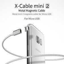 WSKEN Micro USB Magnetic Charger Cable for Samsung Galaxy S2 S3 S4 S6 S7 Edge