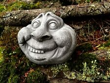 Rock Face, Garden Rocks, Concrete Statue, Garden Decor, Cement Statues, Yard Art