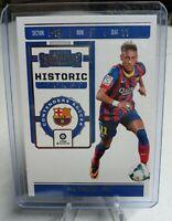 2019-20 Panini Chronicles Contenders Soccer Neymar Jr #HT-NJR Historic Ticket