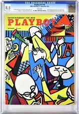 PLAYBOY | 1954-09 8.5 | September 1954 | CGC 8.5 Very Fine + | Jackie Rainbow