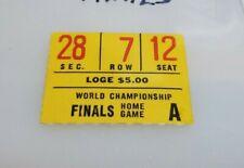 1962 NBA FINALS TICKET STUB LOS ANGELES LAKERS VS BOSTON CELTICS GAME 3  RARE!