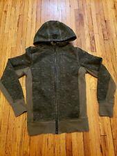 Lululemon Men's Full Zip Scuba Hoodie Sweatshirt Jacket ARMY Green Size S small