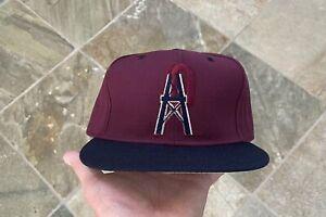 Vintage Houston Oilers New Era Snapback Football Hat