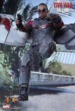 Falcon Hot Toys 1/6 Figure (Captain America guerre civile) Anthony Mackie Mega Vente