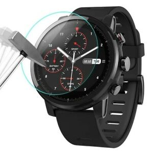 Tempered Glass Screen Protector Film for Round Smart Watch Face 2.5D / ALL SIZES
