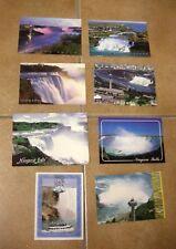 NIAGARA FALLS (CANADA) - Serie 8 cartoline - Anno 2002