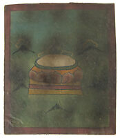 Tsakli Peinture Iniziatico Thangka Tibetano Mongolia Tibet-Trone Del Lotus 2661