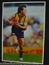 West Coast Eagles Ben Cousins Oil Painting Print
